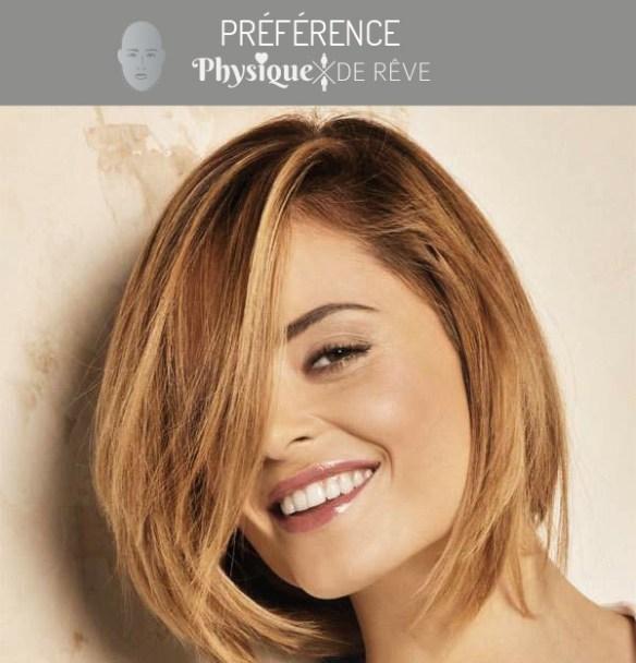 Visage carre rectangle coupe et coiffure pour femme | Physique de rêve