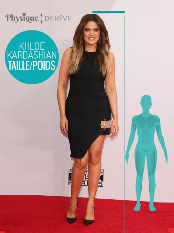 Khloe-Kardashian-taille-poids