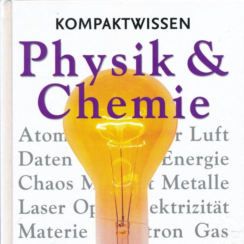 Buchtitel (Ausschnitt) Kompaktwissen Physik & Chemie, © coventgarden