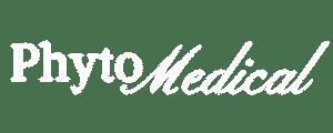 Phytomedical White logo large transparent background