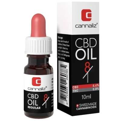 Cannaliz Huile CBD (Edition Ratio) : 8/1 Ratio CBD/THC (10[ml])