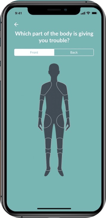 physiotherapy app, Phyx for iOS: Access physiotherapy anywhere, anytime