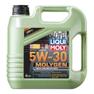 LIQUI MOLY Molygen New Generation 5W-30 (4л) - обновленное моторное масло