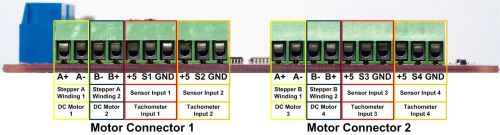 small resolution of each motor connector can drive two dc motors for a total of 4 motors per board the pictures and images below illustrate how these connections should be