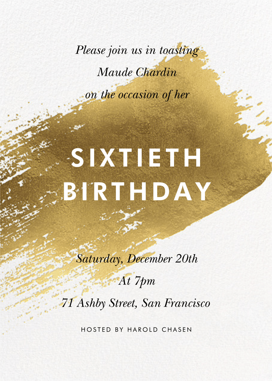 birthday invitations and cards send