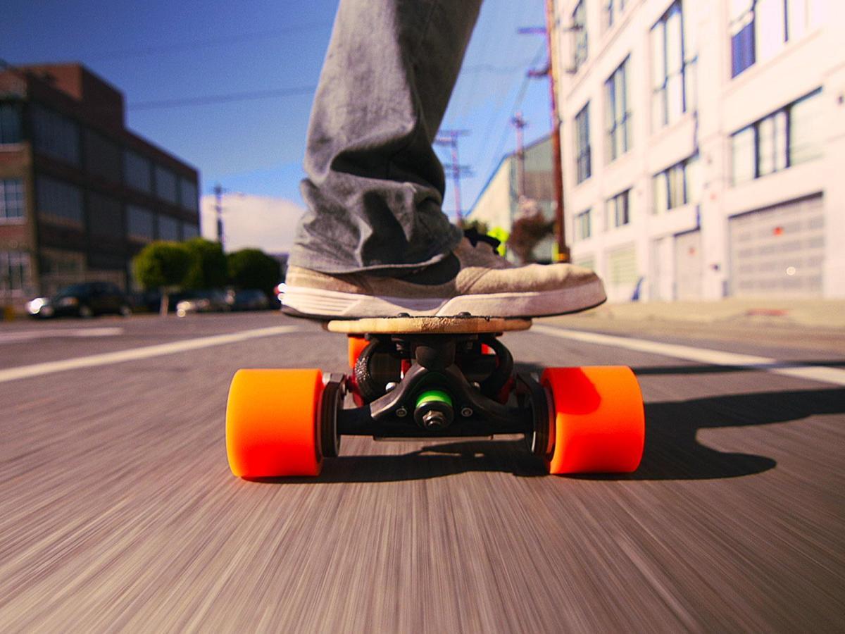 Sanjay Dastoor A skateboard with a boost  TED Talk