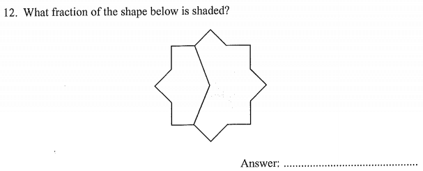 Shapes Questions Collected From 11+ papers