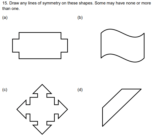 Geometry Questions Collected From 11+ papers