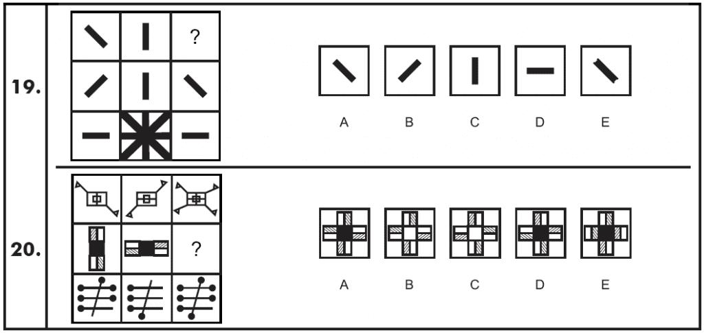 11 Plus Non-verbal Reasoning Matrices Paper 4