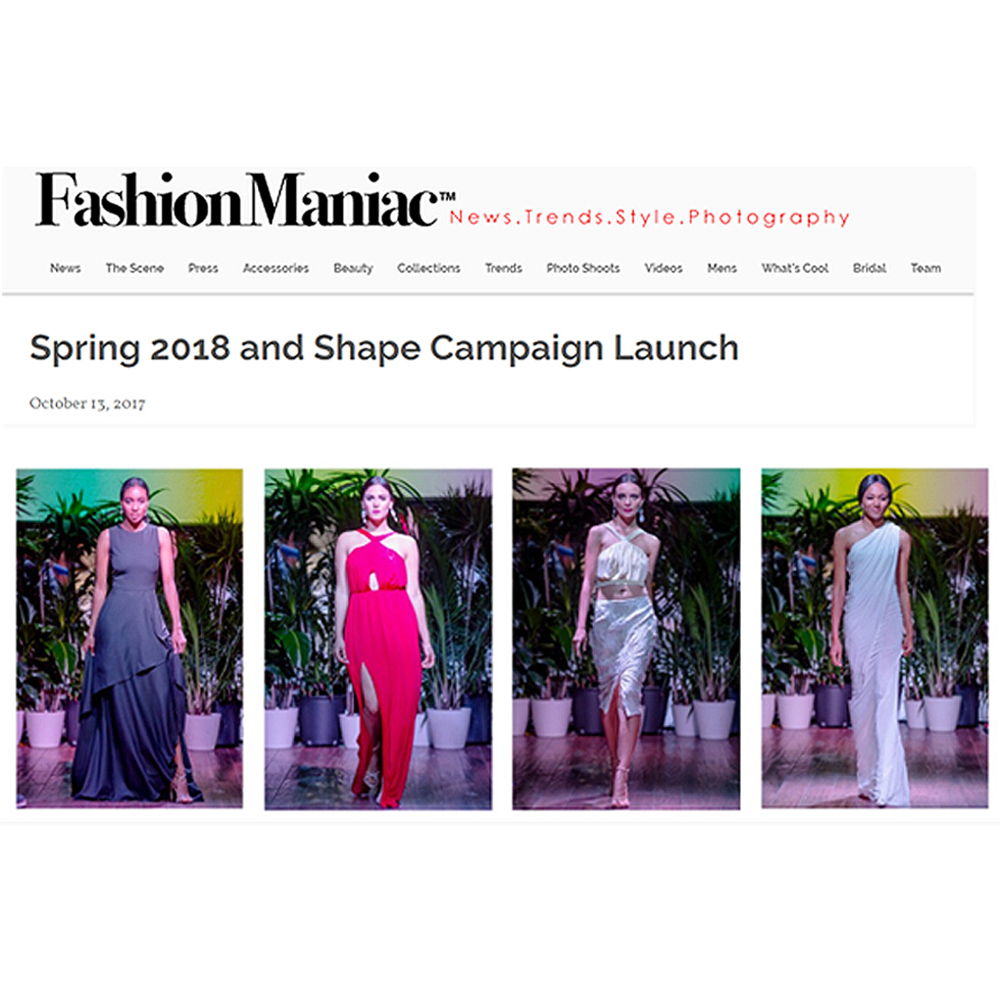Fashion Maniac magazine feature