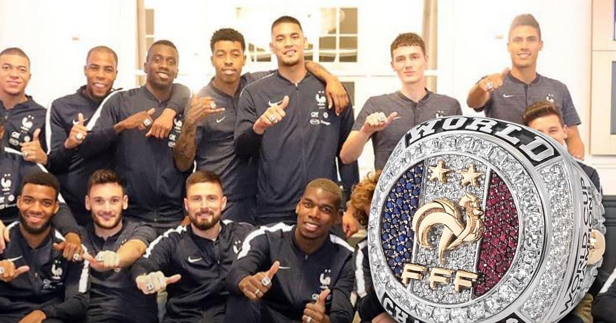 Paul Pogba Berikan Cincin Berlian Juara Piala Dunia untuk Skuat Prancis