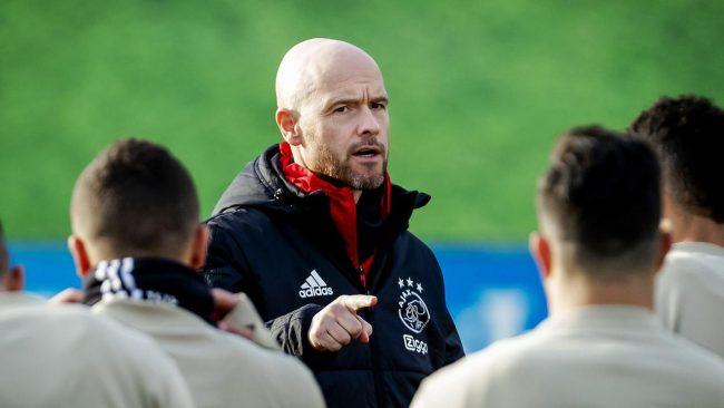 Barcelona dikabarkan sedang melakukan pengincaran dan tertarik untuk merekrut pelatih Ajax Amsterdam, Erik Ten Hag