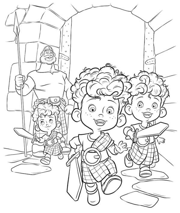 Coloring Pages Disney Puzzle