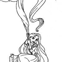 32 Disegni da Colorare di Rapunzel   PianetaBambini.it