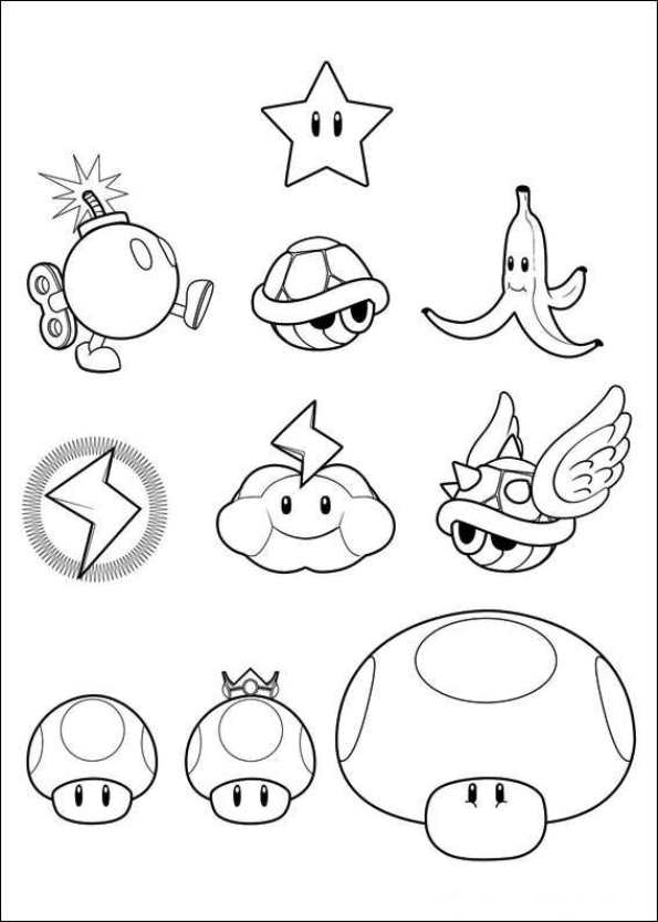 20 Wii Super Mario Brothers Coloring Pages 2 Ideas And Designs