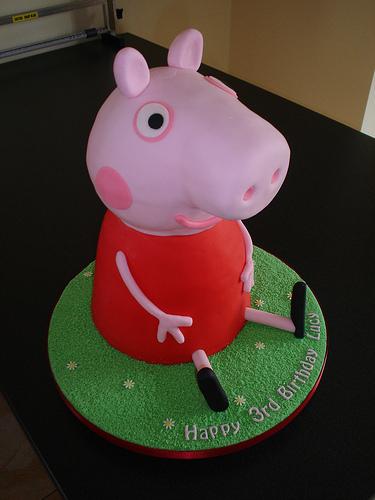 Torte di Peppa Pig per Compleanni 70 Foto