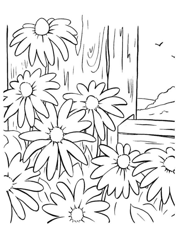 60 Disegni di Primavera da Colorare per Bambini