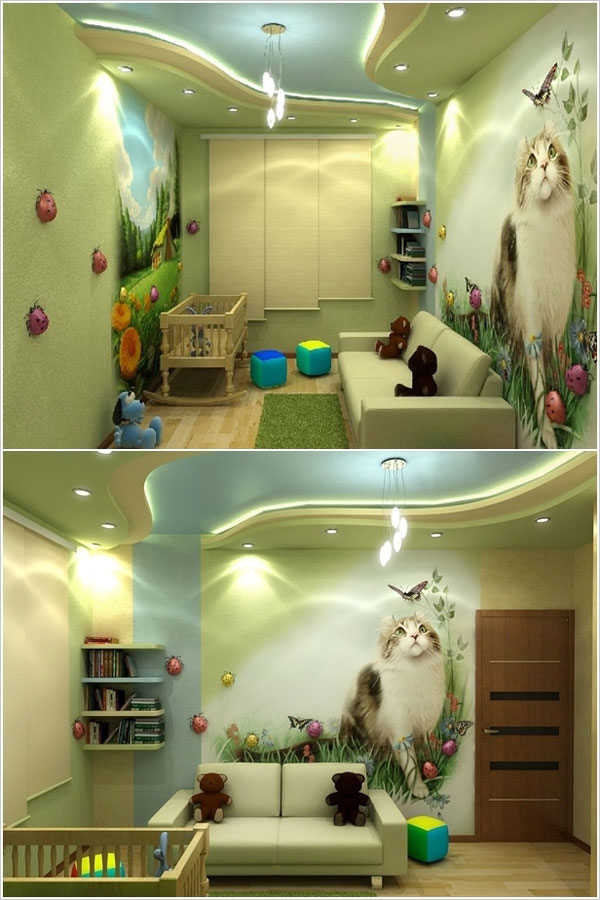 80 Foto di Camerette per Bambini con Arredamento Particolare  PianetaBambiniit
