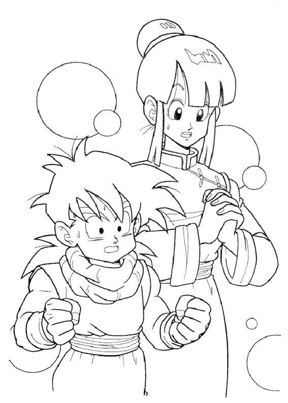 Pagine Da Colorare Di Dragon Ball Disegni Da Stampare E