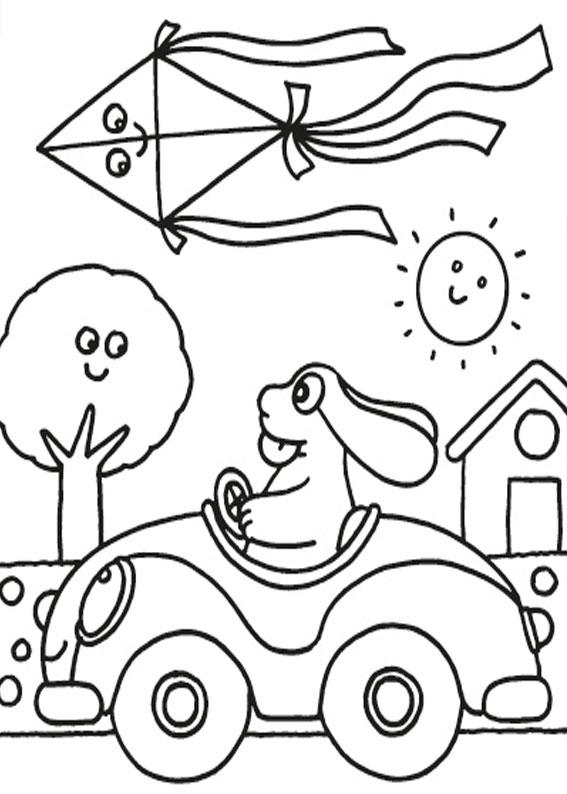 Disegni Di Pasqua Da Stampare E Colorare Gratis Per Bambini