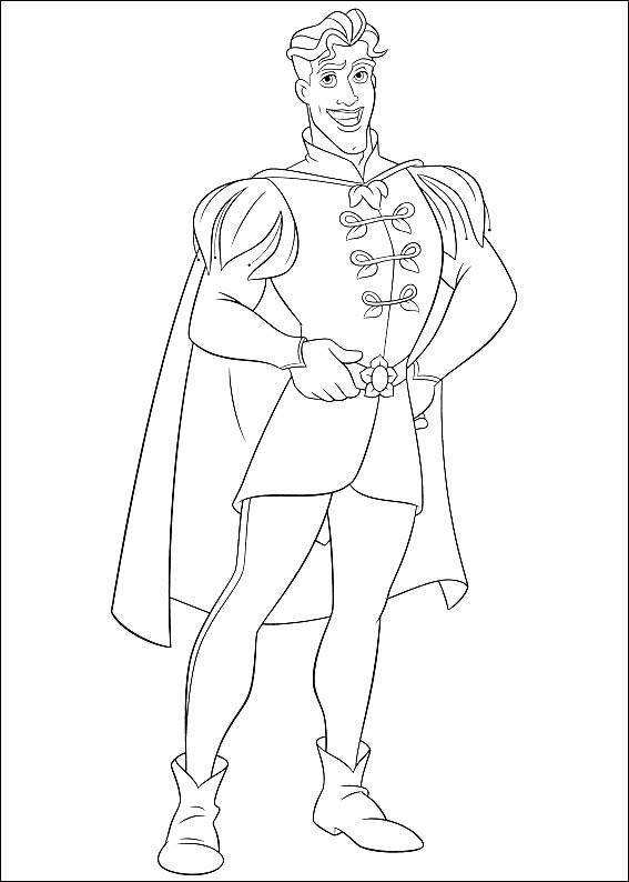 Disegni di Tiana de La Principessa e il Ranocchio da