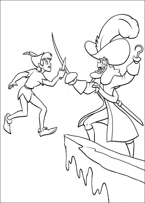 66 Disegni Di Peter Pan Da Colorare