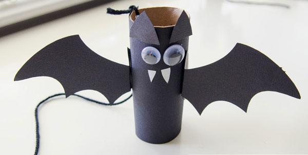 Tante Idee per Lavoretti di Halloween con Rotoli di Carta  PianetaBambiniit