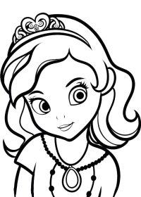 60 Disegni di Sofia La Principessa da Colorare