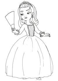 60 Disegni di Sofia La Principessa da Colorare ...