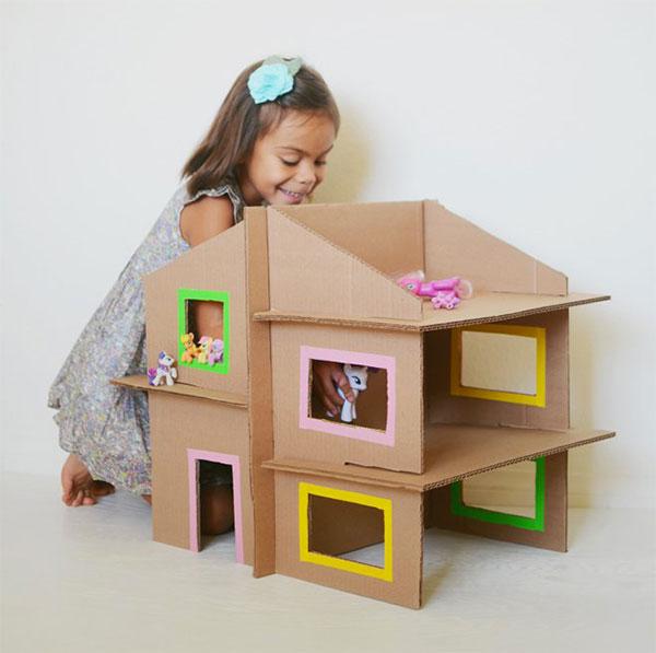 30 Idee per Lavoretti con Scatole di Cartone per Bambini  PianetaBambiniit