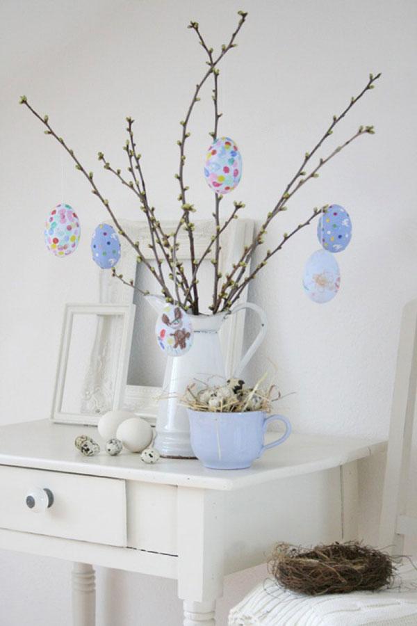 Come Fare lAlbero di Pasqua 22 Idee di Decorazioni Fai Da Te  PianetaBambiniit