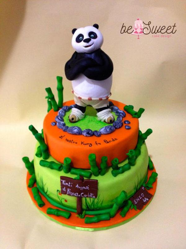 55 Torte di Kung Fu Panda in Pasta di Zucchero PDZ  PianetaBambiniit