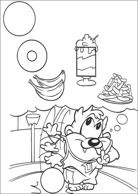 65 Disegni dei Baby Looney Tunes da Colorare