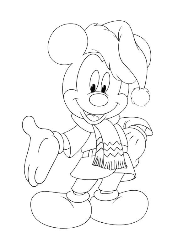 Immagini Da Colorare Disney Natale 50 Disegni Di Natale Della