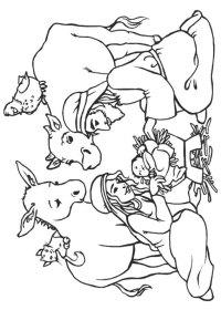 21 Disegni del Presepe da Colorare   PianetaBambini.it