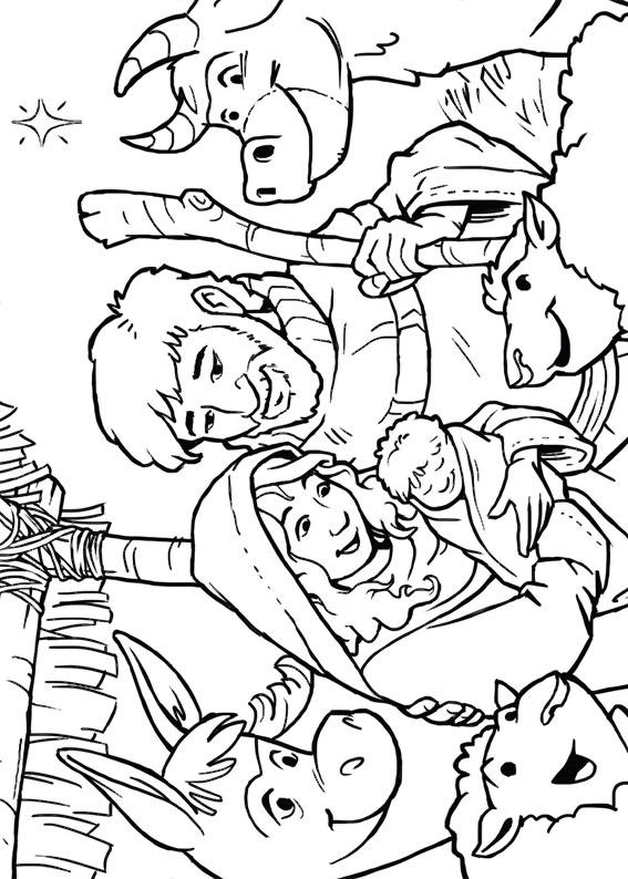 21 Disegni del Presepe da Colorare  PianetaBambiniit