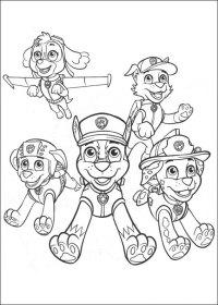 50 Disegni di PAW Patrol da Colorare | PianetaBambini.it