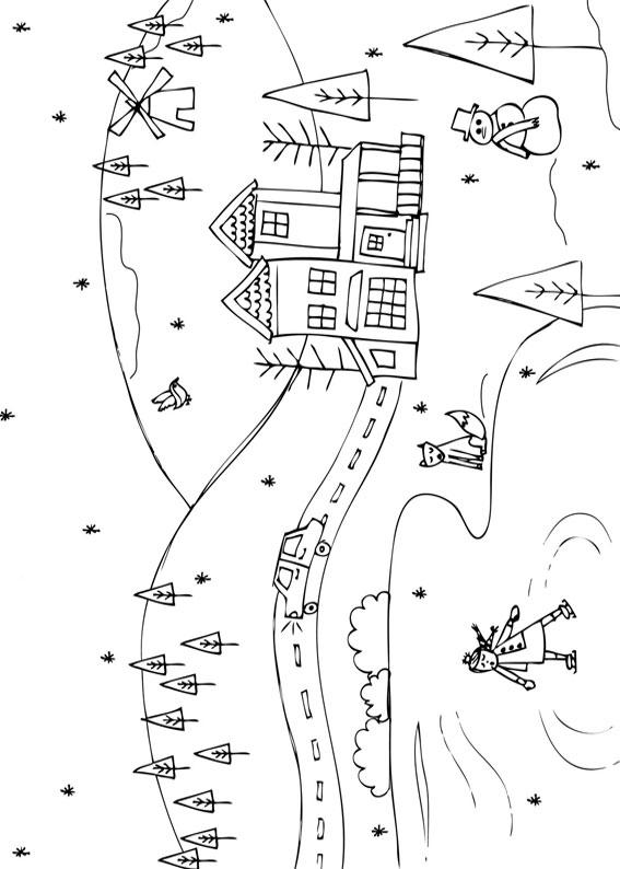 Disegno Di Paesaggio Da Colorare Auto Electrical Wiring Diagram