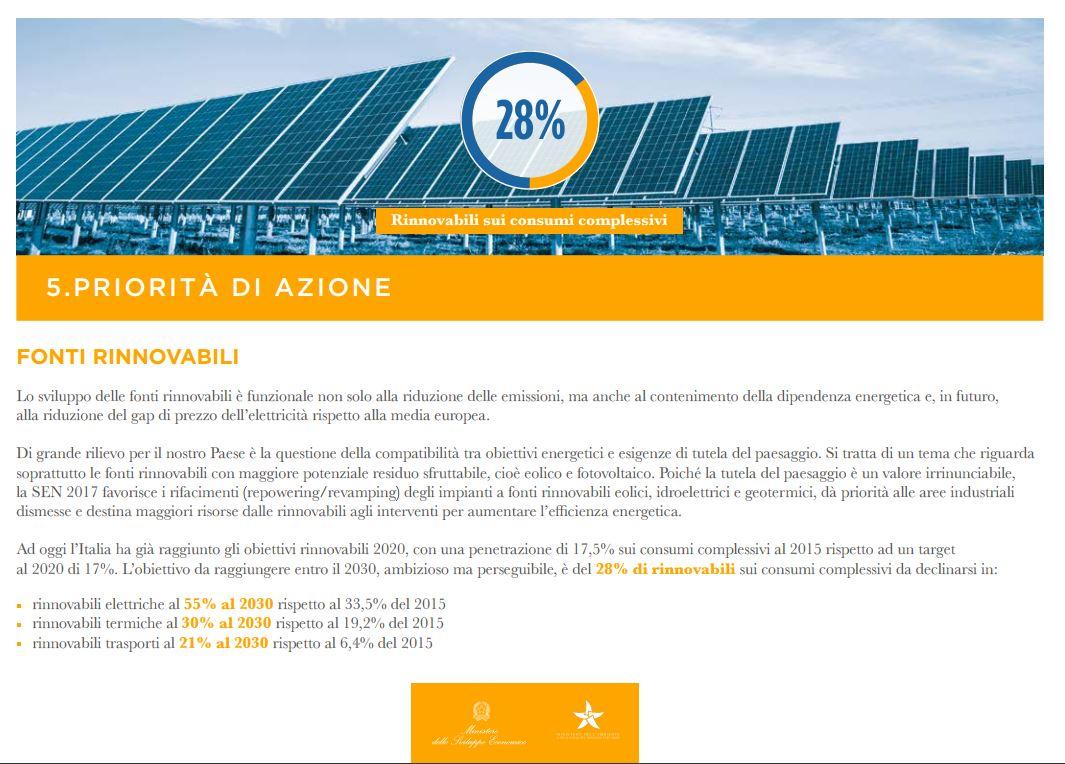 La Sen scommessa sul futuro del sistema energetico. L'energia per vincerla non ci manca.
