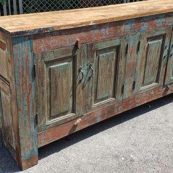 credenza in legno teak