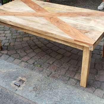 tavolino in legno palissandro