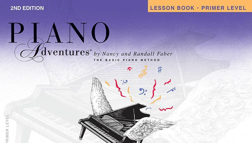 Piano Adventures® Primer Level Lesson Book – 2nd Edition