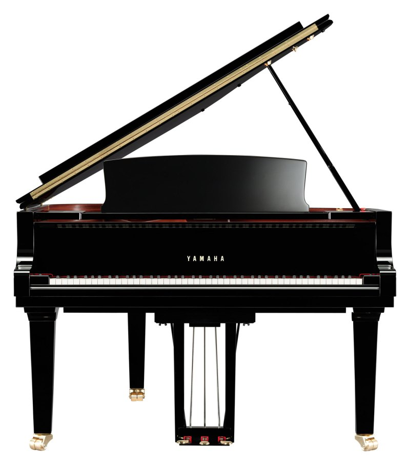 The Yamaha C5X Concert Grand - Front View