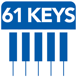 61 Full Size Piano Keys