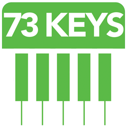 73 Full Size Piano Keys