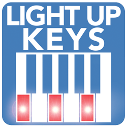 Light up Keys – follow lessons