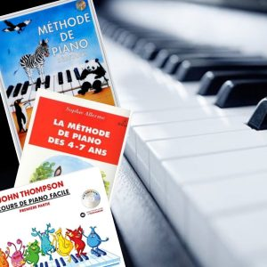 3 méthodes de piano
