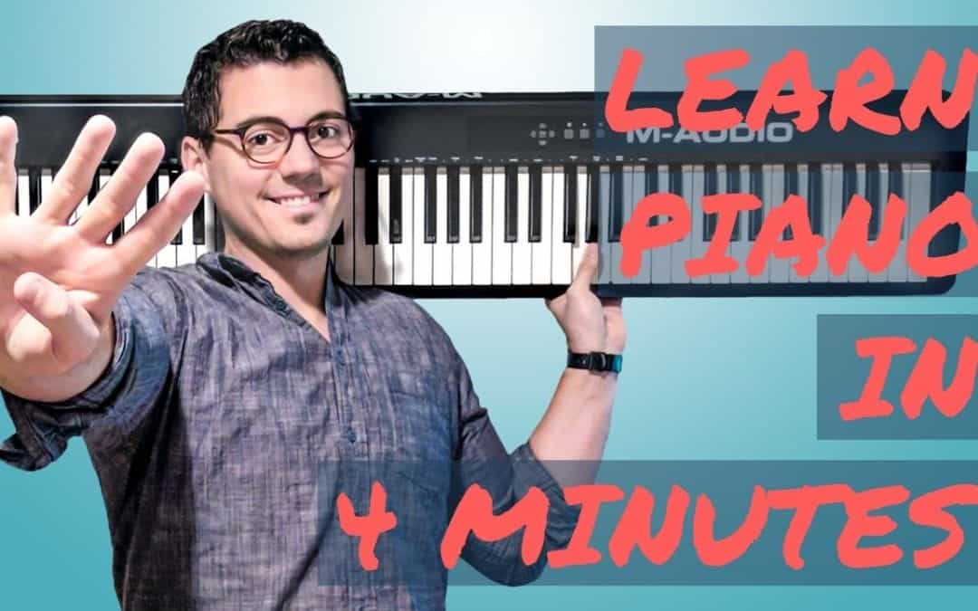 Learn How to Play All of Me on Piano In 4 Minutes