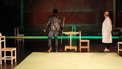 The Valley of Astonishment, Peter Brook, Marie-Hélène Estienne, Théâtre des Bouffes du Nord, Kathryn Hunter, Marcello Magni, Pitch Wombas Konga,Raphaël Chambouvet