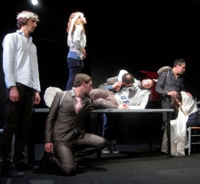 J'ai couru comme dans un rêve, Igor Mendjisky, Compagnie Les Sans Cou, Théâtre du Monfort, critique Pianopanier